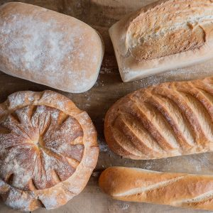 Choose you favourite from our white bread selection, Cottage, French Stick, Farmhouse and many more.