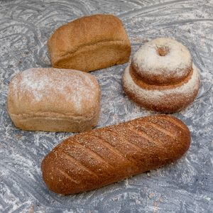 The wholemeal range of breads from Taylors