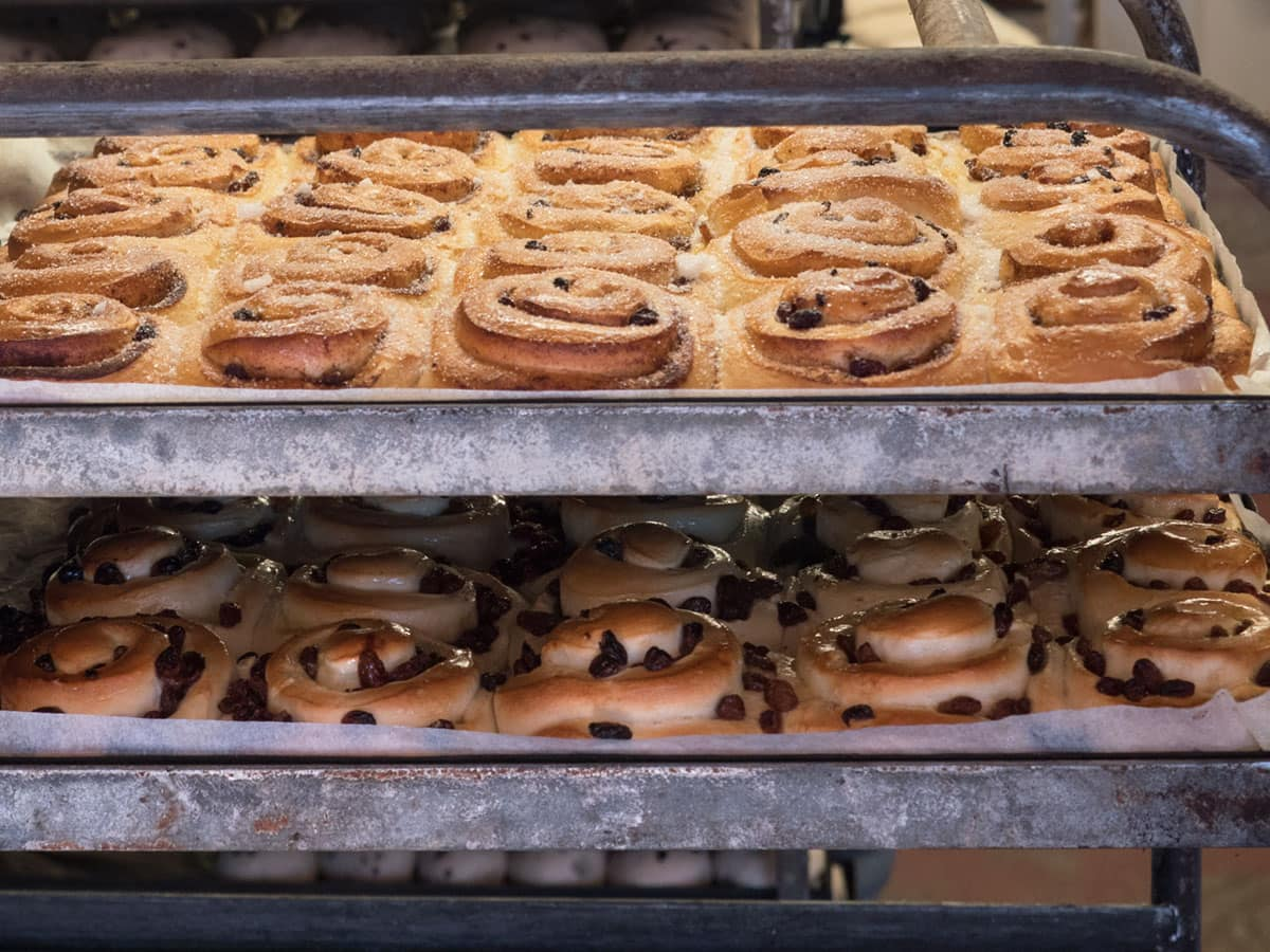 Swirls of Raisins