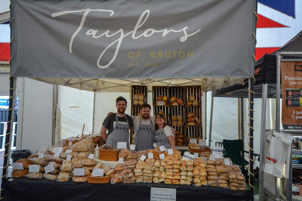 Taylors Team - Royal Bath and West Show 2018