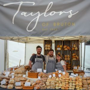Taylors team at the Bath and West Show 2018 with the new Taylors of Bruton branding